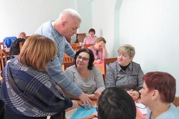 семинар для председателей профсоюзных и цеховых комитетов, фото