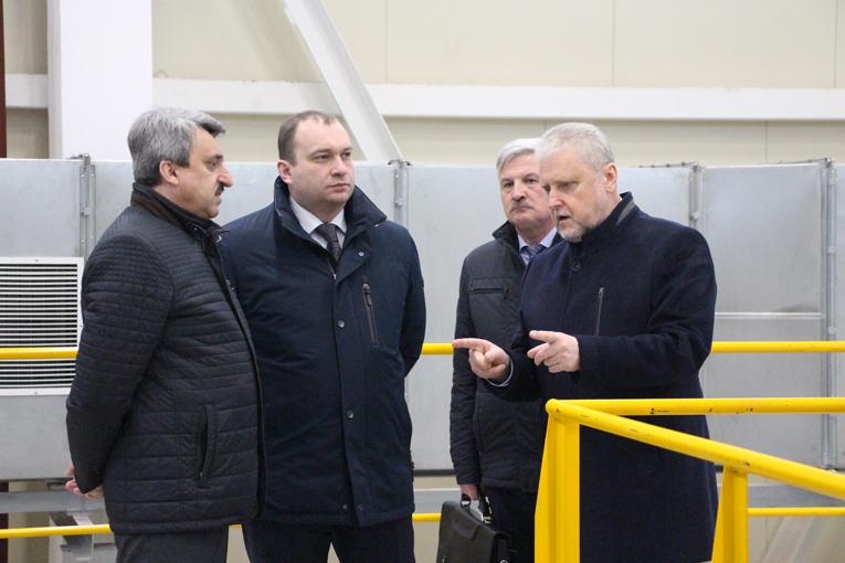 "председатель концерна посетил ОАО ""СветлогорскХимволокно"", фото"