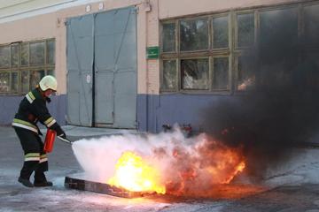 соревнования добровольных пожарных дружин, фото
