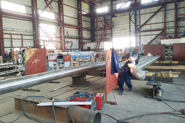 сварка трубопроводов из нержавеющей жаропрочной стали, фото