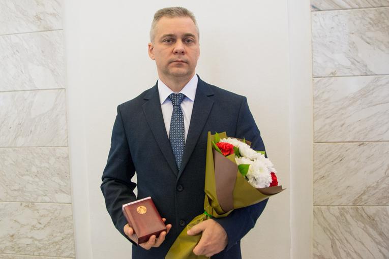 """Вырвич Святослав награжден медалью """"За трудовые заслуги"""""""