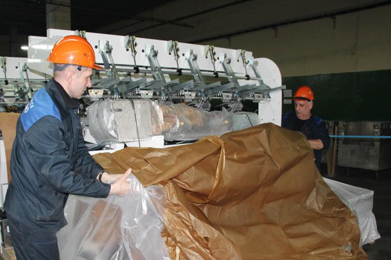 Расширение производства пневмотекстурированных нитей,фото