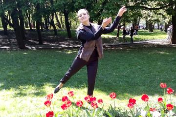 """Кристина Тулубеева, танцовщица народного ритм-балета «Эвридика"""", фото"""