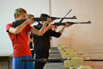 стрельба, пневматическая винтовка, фото