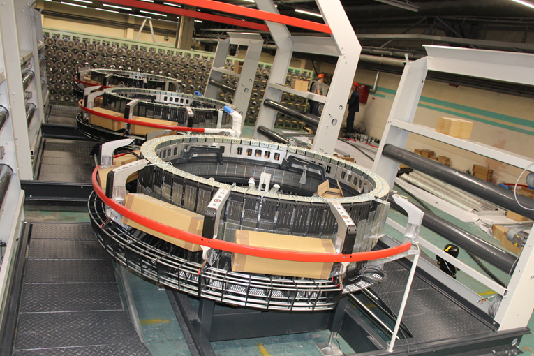величение производства полипропиленовой ткани и контейнеров типа «биг-бег, фото