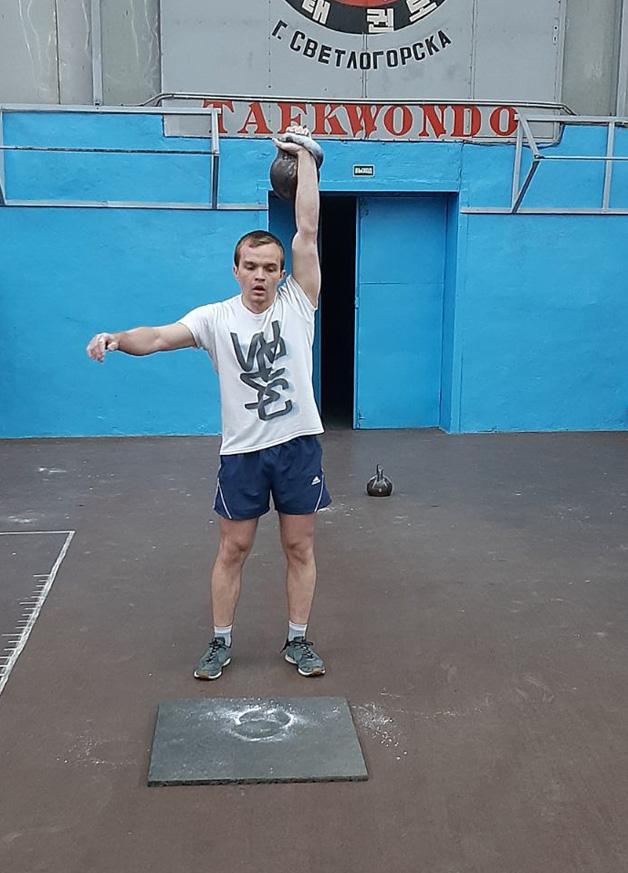 лично – командный чемпионат города Светлогорска по гиревому спорту, фото