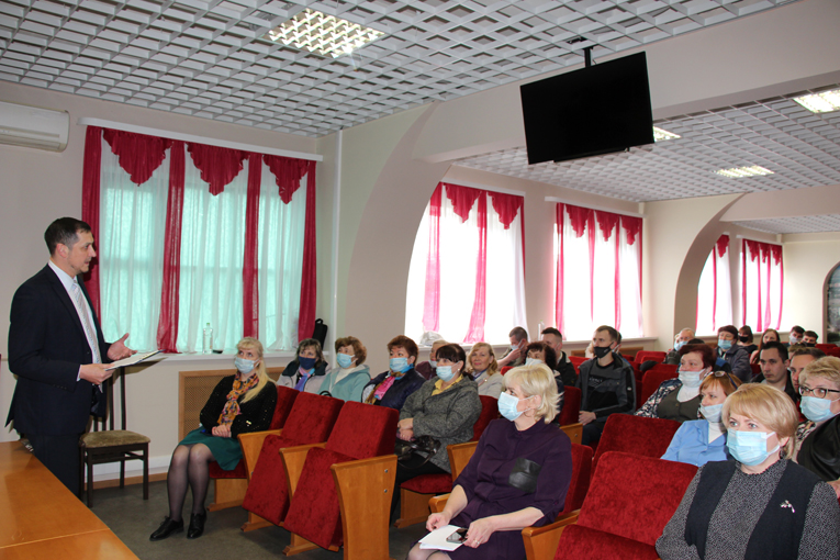 встреча молодёжи и ветеранов предприятия, фото