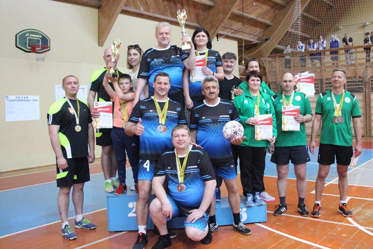 Победителем спартакиады руководящих работников стала команда ОАО «СветлогорскХимволокно», фото