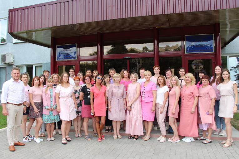 Первая акция августа «Добро розового цвета» проходит в знак солидарности с Машей Друзик, фото