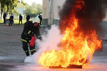 лично-командное первенство пожарных дружин, фото